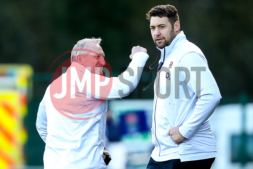 England Women head coach Simon Middleton celebrates the win over France Women - Mandatory by-line: Robbie Stephenson/JMP - 10/02/2019 - RUGBY - Castle Park - Doncaster, England - England Women v France Women - Women's Six Nations