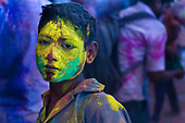 Holi - India's spring festival (wider edit).