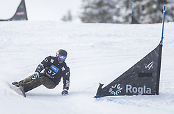 Gardner Darren during the FIS snowboarding world cup race in Rogla (SI / SLO) | GS on January 20, 2018, in Jasna Ski slope, Rogla, Slovenia. Photo by Urban Meglic / Sportida