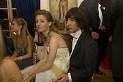 MARIE-SOLENE D'HARCOURT AND OSWALDO NICOLETTI, Crillon Debutante Ball 2007,  Crillon Hotel Paris. 24 November 2007. -DO NOT ARCHIVE-© Copyright Photograph by Dafydd Jones. 248 Clapham Rd. London SW9 0PZ. Tel 0207 820 0771. www.dafjones.com.