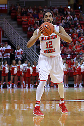 10 December 2016:  Tony Wills(12) during an NCAA  mens basketball game between the UT Martin Skyhawks and the Illinois State Redbirds in a non-conference game at Redbird Arena, Normal IL