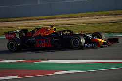 February 18, 2019 - Barcelona, Catalonia, Spain - Max Verstappen of Netherlands driving the (33) Aston Martin Red Bull Racing RB15 during day one of F1 Winter Testing at Circuit de Catalunya on February 18, 2019 in Montmelo, Spain. (Credit Image: © Jose Breton/NurPhoto via ZUMA Press)
