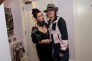 MARTA BITUTE; ADAM ANT,  Showing of Jubilee. Society film club, Sanctum Soho Hotel. celebrating Robert PerenoÕs birthday and the official launch of The Society Film Club on the Rooftop bar of the Sanctum. -DO NOT ARCHIVE-© Copyright Photograph by Dafydd Jones. 248 Clapham Rd. London SW9 0PZ. Tel 0207 820 0771. www.dafjones.com.<br /> MARTA BITUTE; ADAM ANT,  Showing of Jubilee. Society film club, Sanctum Soho Hotel. celebrating Robert Pereno's birthday and the official launch of The Society Film Club on the Rooftop bar of the Sanctum. -DO NOT ARCHIVE-© Copyright Photograph by Dafydd Jones. 248 Clapham Rd. London SW9 0PZ. Tel 0207 820 0771. www.dafjones.com.