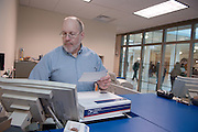 Day in the life of Baker Center...Charlie Tholin The Postman working at Baker Post office