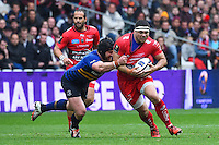 Guilhem Guirado - 19.04.2015 - Toulon / Leinster - 1/2Finale European Champions Cup -Marseille<br /> Photo : Andre Delon / Icon Sport