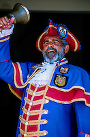 Town crier, State House, King's Street, St. George, Bermuda