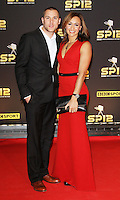 LONDON - DECEMBER 16: Andy Hill; Jessica Ennis attended the BBC Sports Personality of the Year at ExCeL, London, UK. December 16, 2012. (Photo by Richard Goldschmidt)