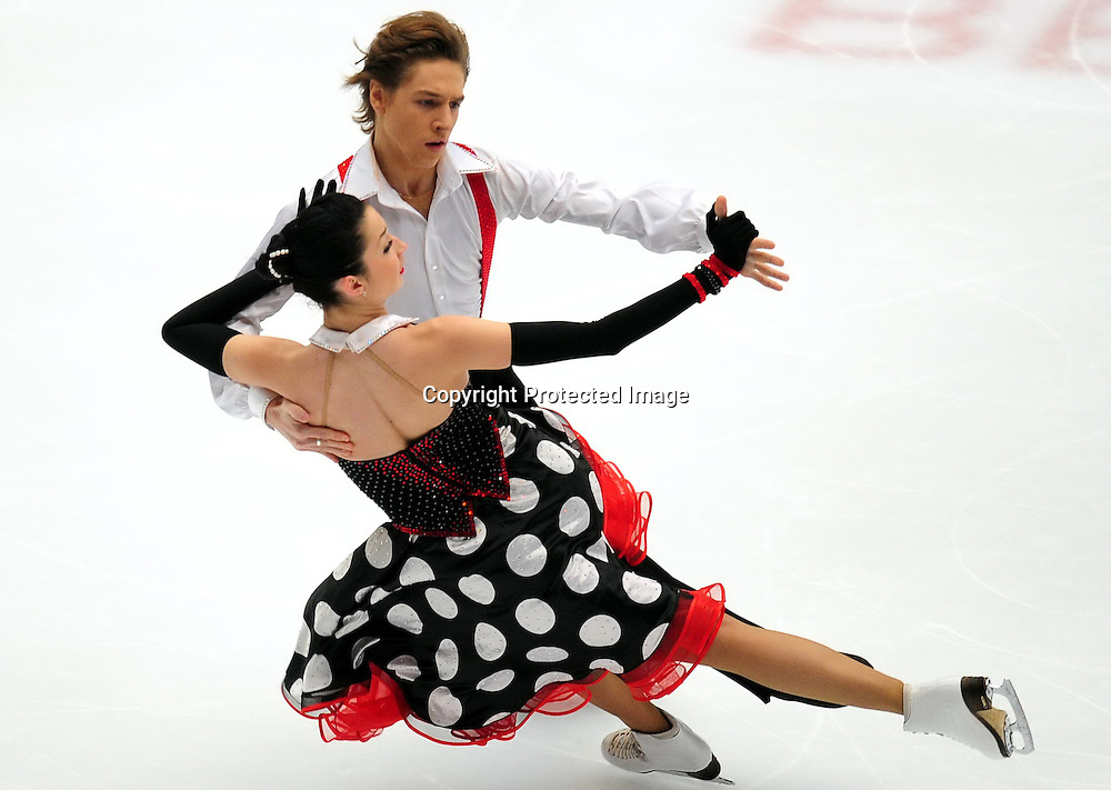 Dec 09, 2010; Beijing, CHINA; compete in the Junior Ice Dance short dance event of the ISU Grand Prix Final.