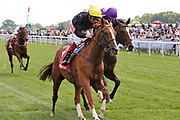 STRADIVARIUS (1) ridden by Frankie Dettori and trained by John Gosden winning The Group 2 Matchbook Yorkshire Cup over 1m 6f (£165,000)   during the third day of the Dante Festival at York Racecourse, York, United Kingdom on 17 May 2019.