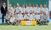AMSTELVEEN - 16/05 - Rotterdam meisjes B wordt tweede, finale NK meisjes B tussen Pinoke en Rotterdam. FOTO KOEN SUYK