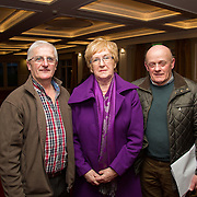 02.03.2017        <br /> Attending the Limerick City and County Councils Annual Tidy Towns Seminar 2017 at the Woodlands House Hotel Adare Co. Limerick were, Michael Collins, Caherconlish Tidy Towns, Cllr. Bridget Teefy and Timmy Butler, Cappamore. Picture: Alan Place