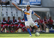 CAPE TOWN, South Africa - Saturday 26 January 2013, Shkelzen Gashi of Grasshopper Club Zurich during the soccer/football match Grasshopper Club Zurich (Switzerland) and Ajax Cape Town at the Cape Town stadium..Photo by Roger Sedres/ImageSA