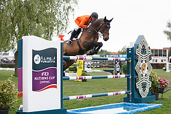 Vos Robert (NED) - Interline H <br /> Furusiyya FEI Nations Cup<br /> Longines Spring Classic of Flanders<br /> CSIO5 Jumping Lummen 2014<br /> © Dirk Caremans