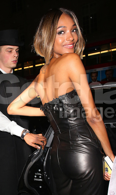 Jourdan Dunn atttends the British Fashion Awards After Party at Cafe Royal in London, UK. 01/12/2014<br />