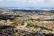 Nederland, Zuid-Holland, Rotterdam, 09-05-2013; Spijkenisse.<br /> Urban expansion, Rotterdam region.<br /> luchtfoto (toeslag op standard tarieven)<br /> aerial photo (additional fee required)<br /> copyright foto/photo Siebe Swart