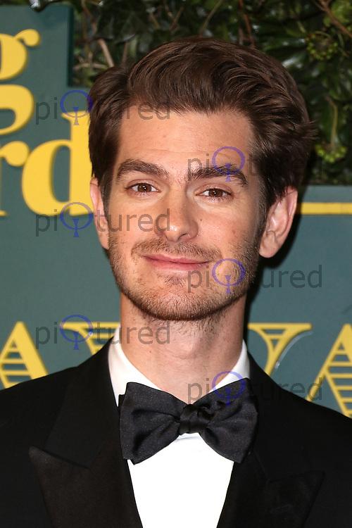 Andrew Garfield, London Evening Standard Theatre Awards, Theatre Royal Drury Lane, London UK, 03 December 2017, Photo by Richard Goldschmidt