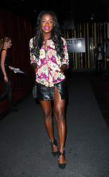 AJ Odudu attends Xperia Z3 Launch Party as Sony celebrates the launch of its new Xperia Z3 smartphone at Aqua Nueva, 30 Argyll Street, London W18 on Thursday 25th September 2014