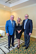 Pictured: Jack Nicklaus, Lori Greiner, Dr. James L. Davis<br />