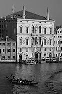 Italy. Venice. BALBI palace on Grand Canal  Venice - Italy  view from CA REZONICO  palace/  BALBI palais sur le grand canal  Venise - Italie vue depuis la CA REZONICO palais
