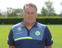 German Soccer Bundesliga 2015/16 - Photocall of VfL Wolfsburg on 16 July 2015 at the Volkswagen-Arena in Wolfsburg, Germany: asisstant-coach Ton Lokhoff