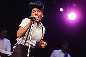 JANELLE MONAE @ IHEARTRADIO THEATER 2013