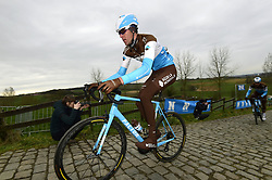 March 30, 2018 - Oudenaarde, Belgique - Oudenaarde, Belgium - March 30 : VANDENBERGH Stijn (BEL) Rider of Team AG2R La Mondiale during a training session prior to the Flanders Classics UCI WorldTour 102nd Ronde van Vlaanderen cycling race with start in Antwerpen and finish in Oudenaarde on March 30, 2018 in Oudenaarde, Belgium 30/03/2018 (Credit Image: © Panoramic via ZUMA Press)