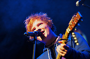 Ed Sheeran live onstage at The Stratford Circus, 19th November 2010