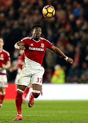 Adama Traore of Middlesbrough chases the ball - Mandatory by-line: Robbie Stephenson/JMP - 14/12/2016 - FOOTBALL - Riverside Stadium - Middlesbrough, England - Middlesbrough v Liverpool - Premier League