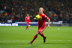 BOLTON, ENGLAND - Saturday, January 21, 2011: Liverpool's Martin Skrtel in action against Bolton Wanderers during the Premiership match at the Reebok Stadium. (Pic by David Rawcliffe/Propaganda)