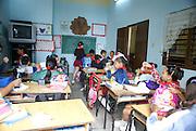 interior of a classroom. Havana, Cuba