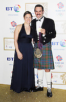 LONDON - NOVEMBER 30: Tim Baillie attended the British Olympic Ball at the Grosvenor House Hotel, London, UK. November 30, 2012. (Photo by Richard Goldschmidt)