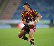 Danny Brough of Huddersfield Giants  during the Betfred Super League Super 8's match at the John Smiths Stadium, Huddersfield<br /> Picture by Stephen Gaunt/Focus Images Ltd +447904 833202<br /> 31/08/2018