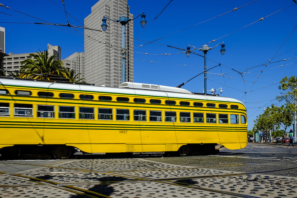 Streetcars on the F Line | May 6, 2014