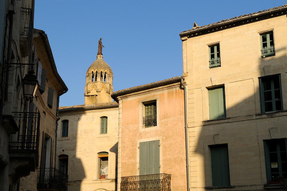 France, Languedoc Roussillon, Gard, Uzès, Place Austerlitz