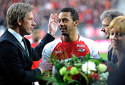 03-04-2010 VOETBAL: AZ - FC UTRECHT: ALKMAAR<br /> FC Utrecht verliest met 2-0 van AZ / Moussa Dembele<br /> ©2010-WWW.FOTOHOOGENDOORN.NL