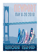 2018 Newport Stopover Print, Limited Edition of 200.