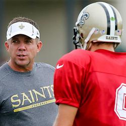 8/14/2013 9:36:06 AM -- New Orleans, LA  -- Saints rebirth with the return of Head Coach Sean Payton with quarterback Drew Brees --    Photo by Derick E. Hingle , Gannett