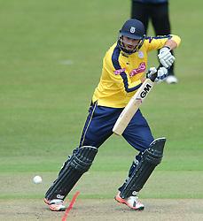 James Vince of Hampshire  - Photo mandatory by-line: Dougie Allward/JMP - Mobile: 07966 386802 - 14/07/2015 - SPORT - Cricket - Cheltenham - Cheltenham College - Natwest T20 Blast