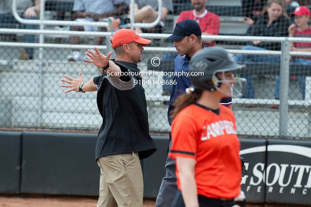 BUIES CREEK, NC - MARCH 10TH, 2015 Campbell University Softball vs NCSU