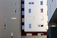 France, Languedoc Roussillon, Hérault (34), Montpellier, quartier Le Millenaire, résidences  Parc de la Lironde