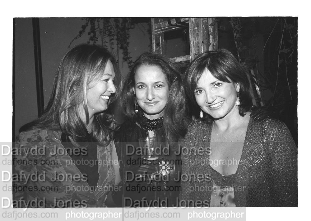 MRS. JOHN HEATHER, ISOBEL GOLDSMITH, DORIT MOUSSAIEFF, Baron steven Bentinch deconstruction party. 1997