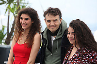 Inas Chanti Antoine Desrosieres and Souad Arsane at the A Genoux Les Gars film photo call at the 71st Cannes Film Festival, Thursday 10th May 2018, Cannes, France. Photo credit: Doreen Kennedy
