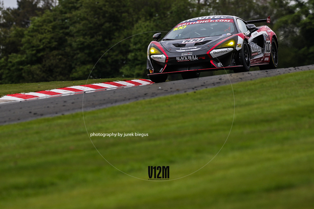 Black Bull Garage 59 | McLaren 570S GT4 | Sandy Mitchell | Ciaran Haggerty | British GT Championship | Oulton Park | 17 April 2017 | Photo: Jurek Biegus