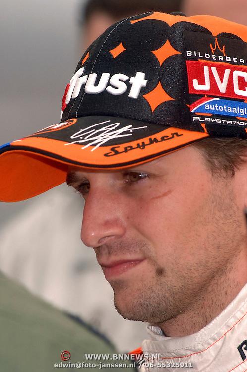 NLD/Volkel/20070420 - Spyker F1 meets F16, Full Throttle 2007, Christijan Albers