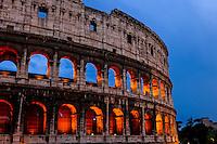 Italia - Roma - Coliseu em Roma - Foto: Gabriel Lordello/ Mosaico Imagem