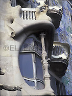 Gaudi Architecture, Barcelona,Spain