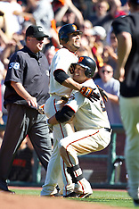 20100530 - Arizona Diamondbacks at San Francisco Giants (Major League Baseball)