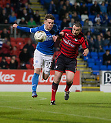 06/10/2017 - St Johnstone v Dundee - Dave Mackay testimonial at McDiarmid Park, Perth, Picture by David Young - Barry Smith