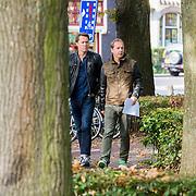 NLD/Laren/20130102 - Uitvaart John de Mol Sr., Jeroen Rietbergen, Edwin Evers