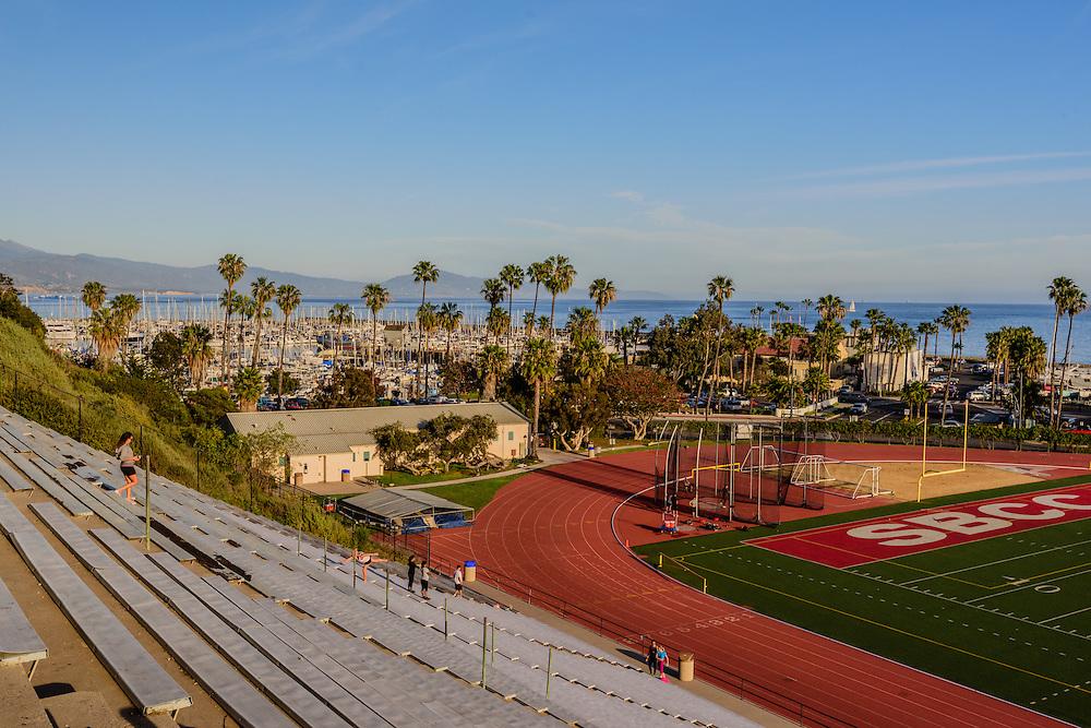 Santa Barbara City College, Stadium, Santa Barbara, California